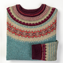 Alpine Fairisle Jumper Old Rose