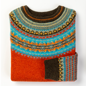 Eribe Alpine Fairisle Sweater - Pheasant