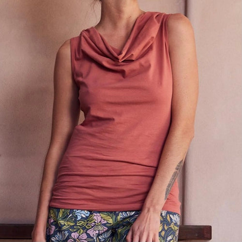 Rosa Top by MahaShe - Dusty Cedar