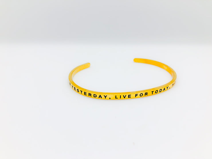 Learn From Yesterday,Live For Today, Hope For Tomorrow - www.moinasiashop.com