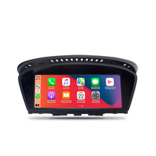"Load image into Gallery viewer, 8.8"" Wireless CarPlay Android Auto Car Multimedia Screen For BMW Series 3 E90 E92 Head Unit Bluetooth Rear Camera"
