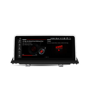 "BMW E70/E71 Android system Qualcomm 8-core Built-in 4G LTE Car Multimedia with IPS HD 10.25""screen head unit Bluetooth Rear Camera For BMW X5/X6"