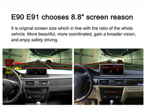 "BMW E90 Android system Qualcomm 8-core Built-in 4G LTE Car Multimedia with IPS HD 8.8""screen head unit Bluetooth Rear Camera FOR BMW Series 3 E90 E91 E92 E93"