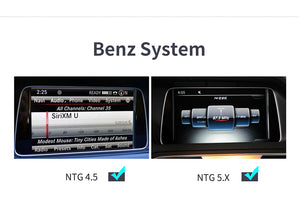 Mercedes CarPlay and Android Auto interface For Mercedes NTG4.5 NTG5.0 connect iphone/IOS