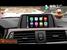 Load and play video in Gallery viewer, Wireless CarPlay and Android Auto interface Box For BMW CIC NBT EVO System connecte iphone/IOS
