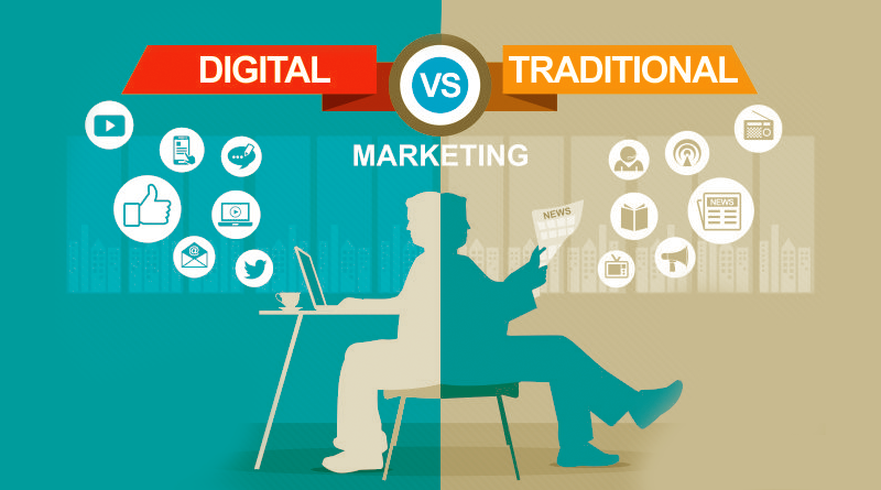 Digital Marketing Vs Traditional Marketing-fliniq