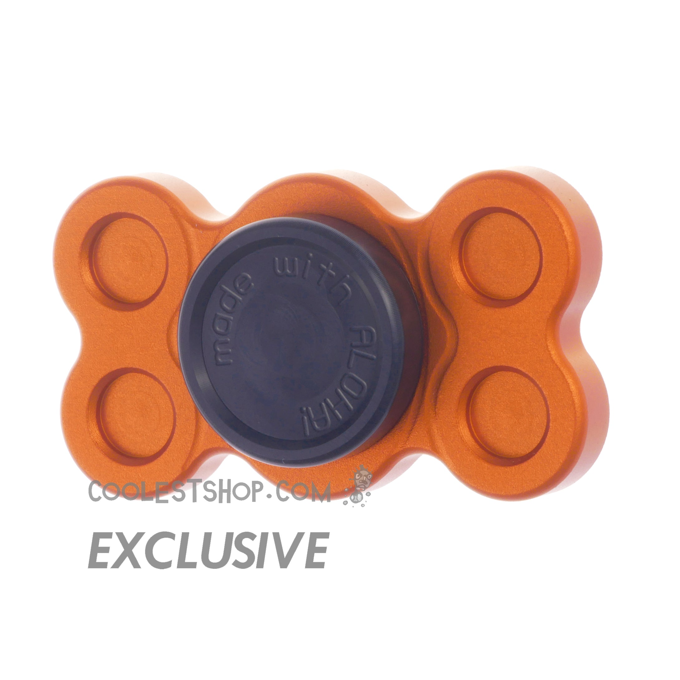 808 Spinner • GEN 1 • made in the USA • Full Aluminum • Anodized ORANGE • 608 bearing version • coolestshop.com exclusive IN STOCK NOW!!!