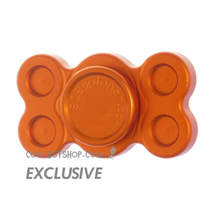 808 Spinner • GEN 1 •  made in the USA by WOOSAH! • Full Aluminum • Anodized ORANGE • R188 version • coolestshop.com exclusive IN STOCK NOW!!!