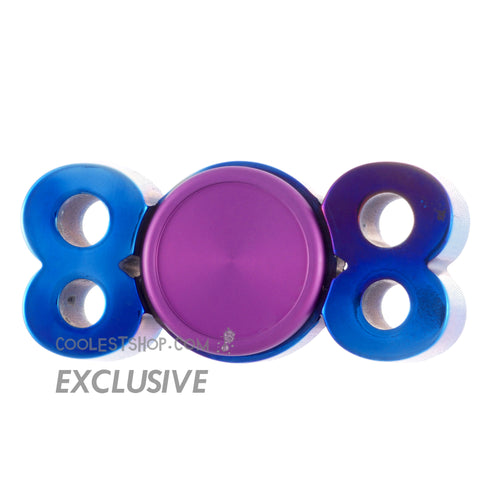 808 Spinner • GEN 2 • by Steampunk Spinners • Titanium • coolestshop.com exclusive #3