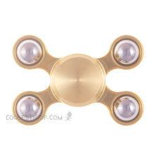 Aluma FX EDC 4 Shooter Mini Brass Body w/ Brass Buttons & Tungsten Carbide Balls • R188 Bearing