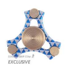 "NTO Designs Ternion ""Da Kula"" Aluminum & Brass  BLUE"