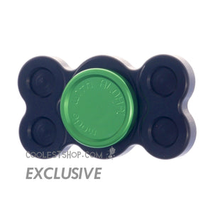 808 Spinner • GEN 1 • made in the USA • Full Aluminum • Anodized BLACK • R188 bearing version • coolestshop.com exclusive IN STOCK NOW!!!
