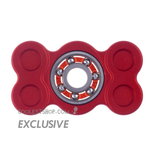 808 Spinner • GEN 1 • made in the USA • Full Aluminum • Anodized RED • 608 bearing version • coolestshop.com exclusive IN STOCK NOW!!!