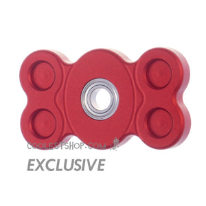 808 Spinner • GEN 1 •  made in the USA by WOOSAH! • Full Aluminum • Anodized RED • R188 version • coolestshop.com exclusive IN STOCK NOW!!!