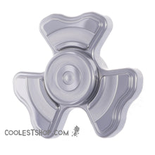WooSah! USA the BOSS Stainless Steel Fidget Spinner featuring R188 w o-ring retention system