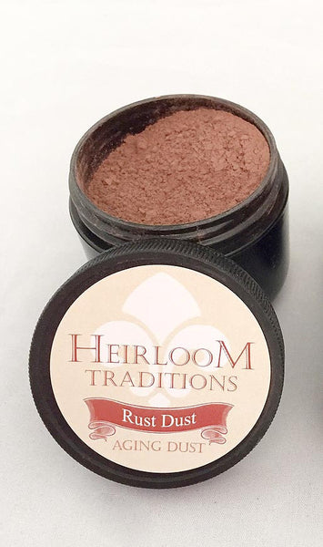 Aging Powder - Rust Dust 2oz (56g) by Heirloom Traditions Paint