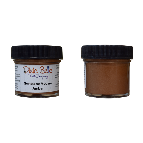 Dixie Belle Gemstone Mousse - AMBER (30ml) - Rustic Farmhouse Charm
