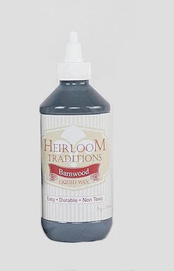 BARNWOOD Liquid Wax 8oz (226g) by Heirloom Traditions Paint