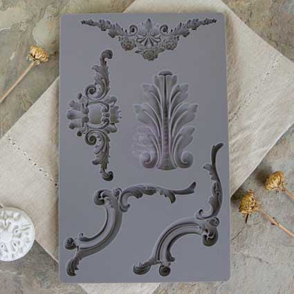 IOD Decor Mould: Baroque 4