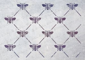 Bee Harlequin Pattern (A4)