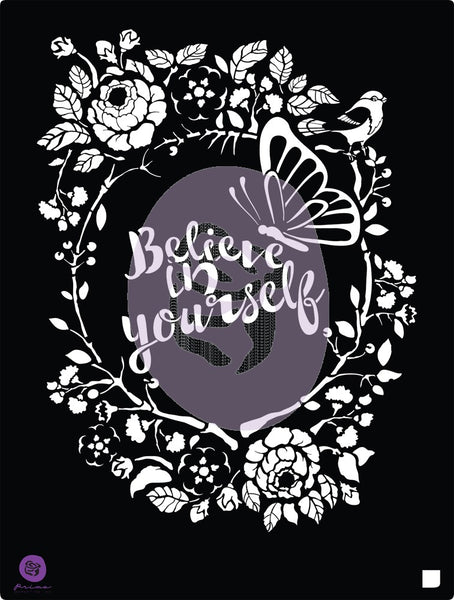 Redesign Stencil - Believe
