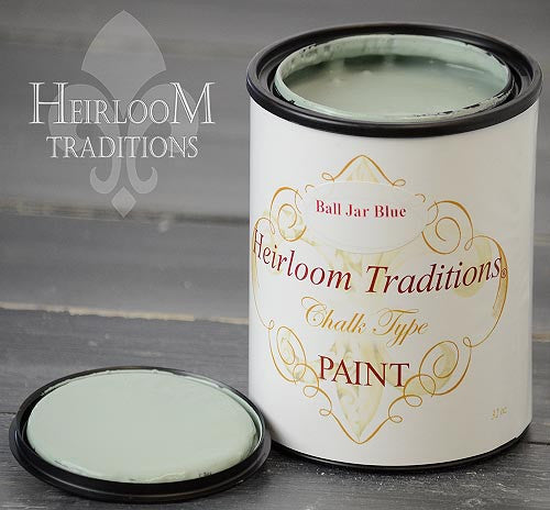 BALL JAR BLUE (by Refunk My Junk) Heirloom Traditions Paint