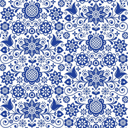 Dixie Belle Decoupage Rice Paper - BLUE GLASS ORNATE (PRE-ORDER) - Rustic Farmhouse Charm