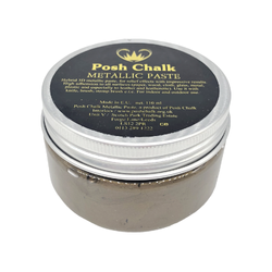 BROWN VAN DYKE Smooth Metallic Paste by Posh Chalk (110ml)