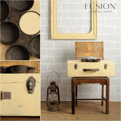 BUTTERMILK CREAM Fusion™ Mineral Paint - Rustic Farmhouse Charm