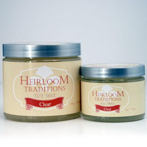 CLEAR Gel Wax by Heirloom Traditions Paint