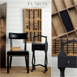 COAL BLACK Fusion™ Mineral Paint