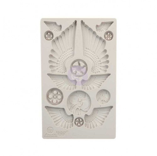 COGS & WINGS Mould by Finnabair - Rustic Farmhouse Charm