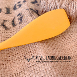 Dixie Belle Chalk Mineral Paint - COLONEL MUSTARD - Rustic Farmhouse Charm