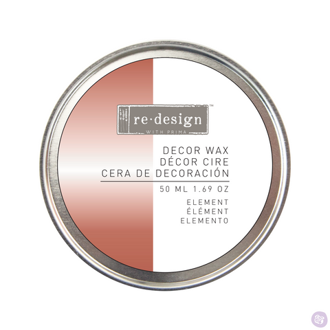 ELEMENT Wax Paste by Redesign with Prima (50ml) - Rustic Farmhouse Charm