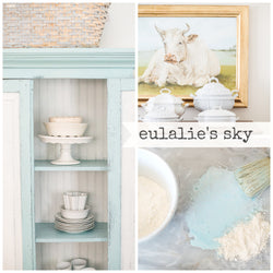 EULALIE's SKY Miss Mustard Seed's Milk Paint - Rustic Farmhouse Charm
