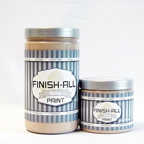 BURLAP Finish All Paint by Heirloom Traditions (32oz Quart)
