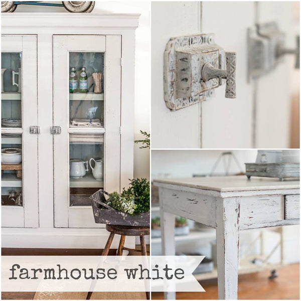 FARMHOUSE WHITE Miss Mustard Seed's Milk Paint - Rustic Farmhouse Charm