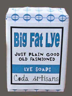 Big Fat Lye Soap by Coda Artisans