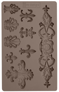 PRE-ORDER by 25 June 7pm WST: Redesign Mould - Fleur De Lis