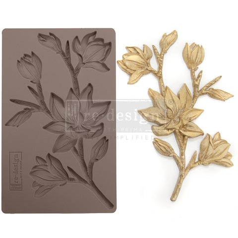 FOREST FLORA Redesign Mould - Rustic Farmhouse Charm