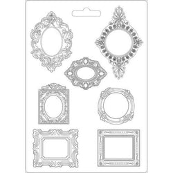 FRAMES2 Soft Maxi Mould by Stamperia (A4) - Rustic Farmhouse Charm