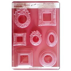 FRAMES Soft Maxi Mould by Stamperia (A4)