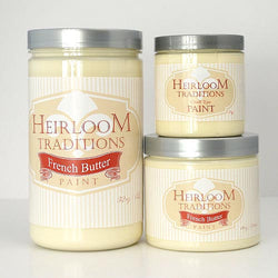 FRENCH BUTTER (by White Lace Cottage) Heirloom Traditions Paint - Rustic Farmhouse Charm