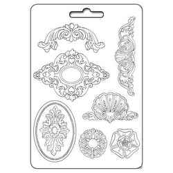 FRIEZES Soft Maxi Mould by Stamperia (A4) - Rustic Farmhouse Charm