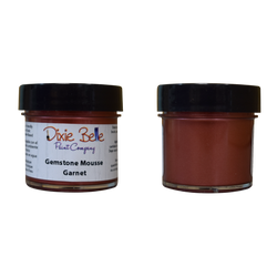 Dixie Belle Gemstone Mousse - GARNET (30ml) - Rustic Farmhouse Charm