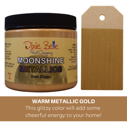 1st Round of Pre-Order: GOLD DIGGER Dixie Belle Moonshine Metallics 16oz (473ml)