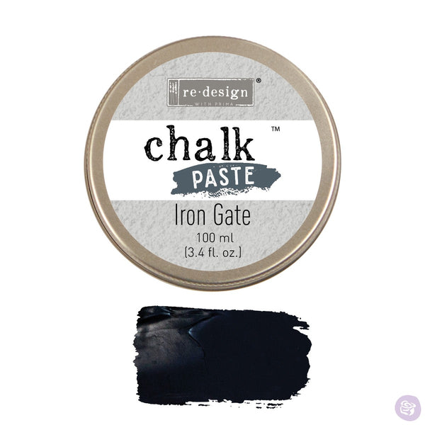 IRON GATE Redesign Chalk Paste 100ml - Rustic Farmhouse Charm