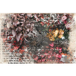 PRE-ORDER by 21 September 7pm WST Redesign Decoupage Paper - IVA (76.2cm x 48.26cm)