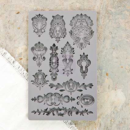 IOD Decor Mould: Keyholes