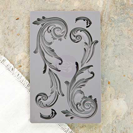 IOD Decor Mould: Large Fleurish